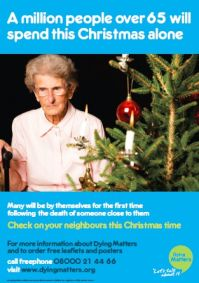 A million people over 65 will spend this Christmas alone